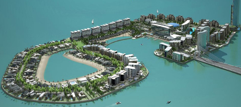 reef island development