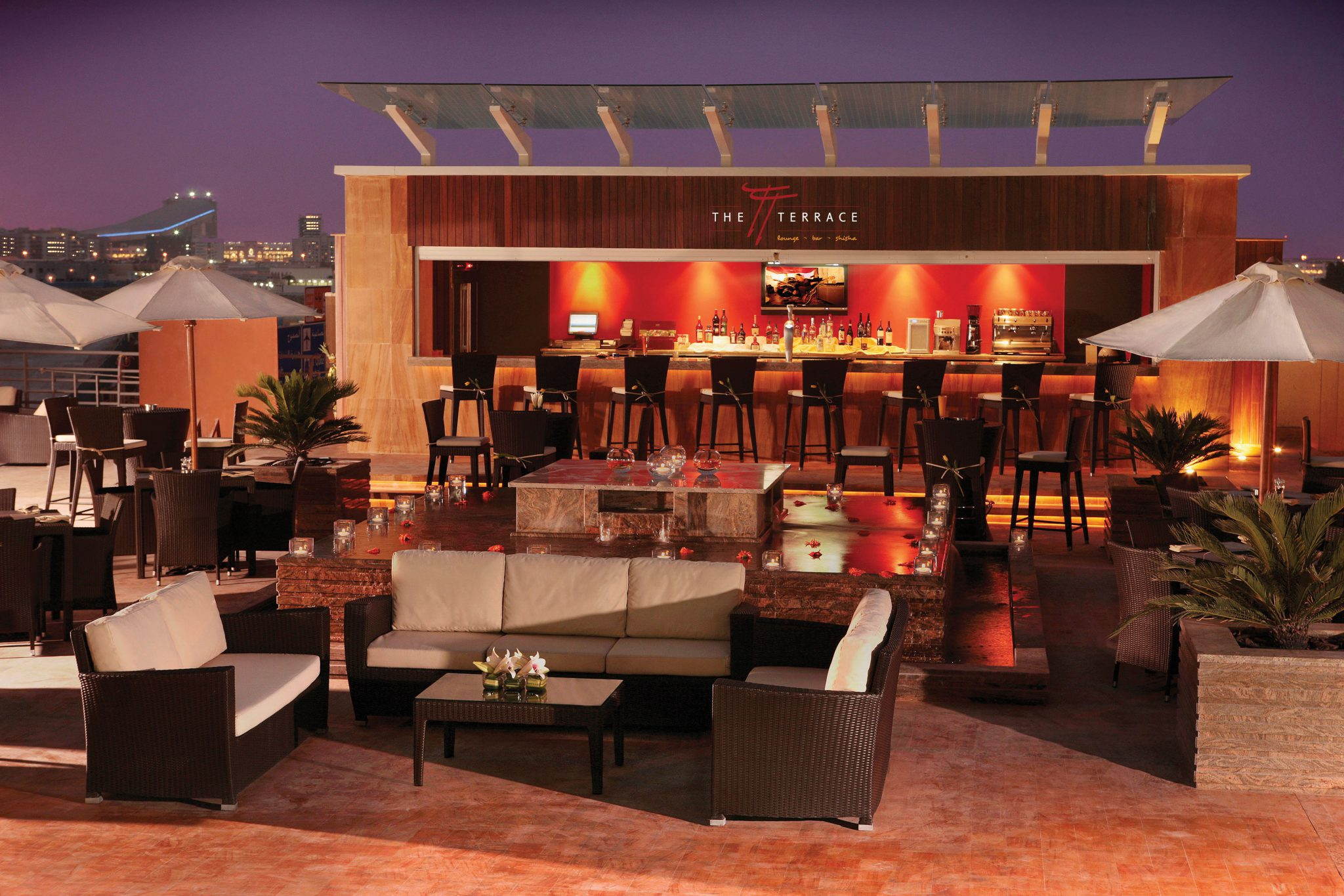 TERRACE ROOF TOP BAR